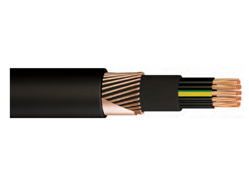 Armored cables (PVC)