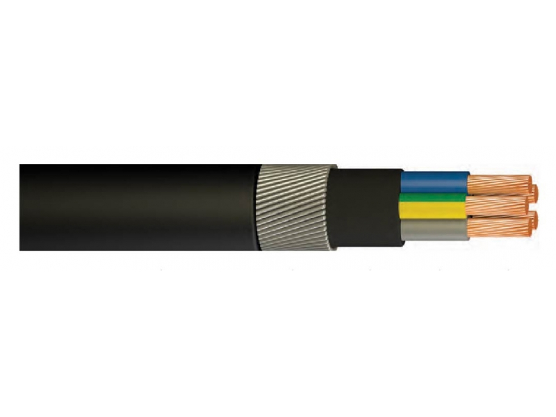 YXZ2V / N2XRY / XLPE INSULATED, STEEL ARMORED, VERY CORE CABLE