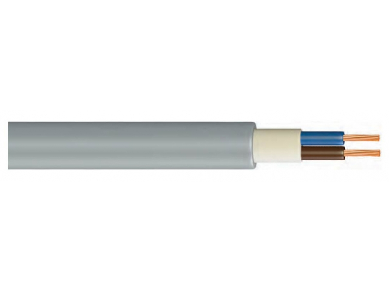 NHMH / PP INSULATED, VERY CORE, HALOGEN FREE, FLAME RETARDANT CABLE
