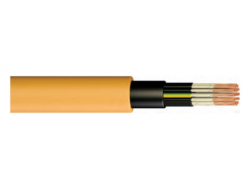 NHXH FE 180 / E90 / VERY CORE, HALOGEN FREE, FIRE RESISTANT CABLE