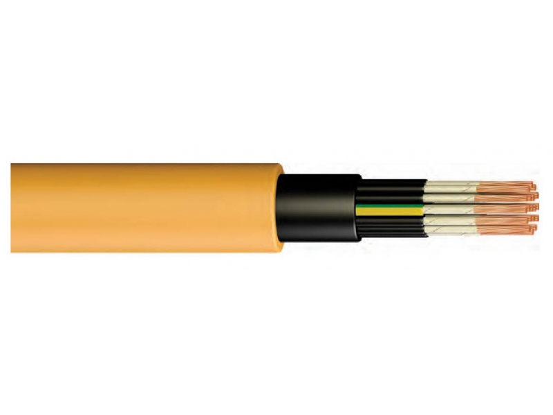 NHXH FE 180 / E90 / CROSS-CONNECTED, HALOGEN FREE, FLAME-RESISTANT MULTI-COORDINATING UNDERWATER CABLE