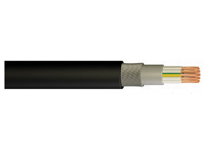BS6724 - HFFR / HALOGEN FREE, FLAME RETARDANT, ARMOURED, VERY CORE ENERGY CABLE