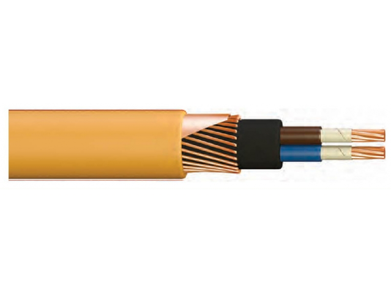 NA2XBY / XLPE INSULATED, HFFR SHAPED, ARMORED, FIRE RESISTANT, CONCENTRATED UNDERWATER CABLE