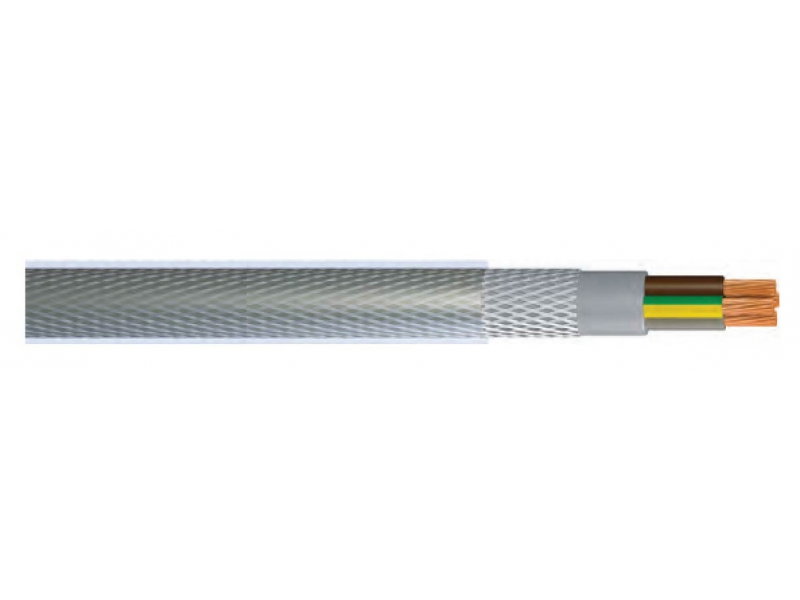 YY-SY3 / PVC INSULATED AND SHEATHED, MULTI-WIRE BRAIDED CONTROL WIRELESS