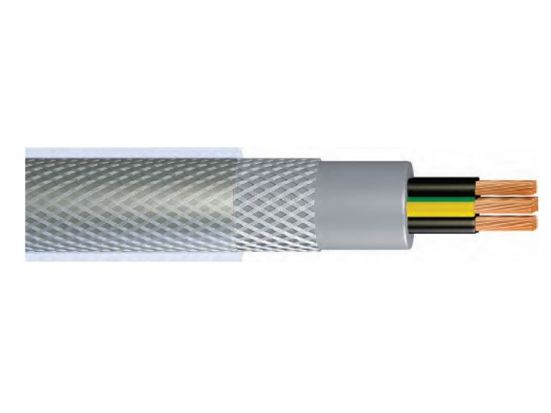 YY-SY /  PVC INSULATED AND SHEATHED, MULTI-WIRE BRAIDED CONTROL WIRELESS